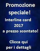 Promozione Interline card 2017 scontata!