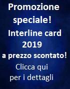 Promozione Interline card 2019 scontata!