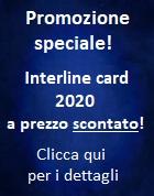 Promozione Interline card 2020 scontata!