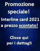 Promozione Interline card 2021 scontata!